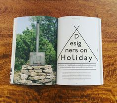This summer I'll be heading to a Swedish island once more to cook for @designers_on_holiday ! Thanks to @theholborn for a delightful write up about the camping project - The oven that we built with @featuringfeaturing is on the first page of the article! #designersonholiday #press #camping #bakerontour #adventures #travel #gotland #sweden