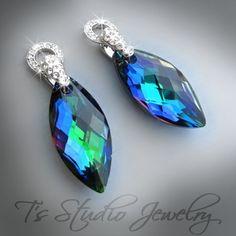 Peacock Blue Jewelry Wedding Jewelry Photos on WeddingWire