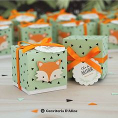 Fox Party, Baby Party, Jungle Theme Birthday, Baby Birthday, Party In A Box, Party Kit, Baby Shower Winter, Baby Boy Shower, Creative Gift Wrapping