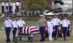 Pearl Harbor sailors exhumed at Honolulu's National Memorial Cemetery of the Pacific   Daily Mail Online