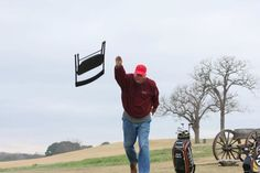 Have you ever been mad enough to throw a chair on the golf course? Bobby Knight has #golfinggonewrong