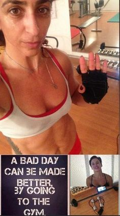 #beastmode Lil Ndb  Forgot to post Monday!! A day full of excuses but there are no excuses so I Hit the gym Solo with Lisa to kick my @$$ & keep me goin!! Perfect way to turn a rainy day into awesome sweaty day!! Wish all in Lisa-M. BodyRock land a good wk Xx  http://www.pinterest.com/DailyHiitLisa/bodyrockers/