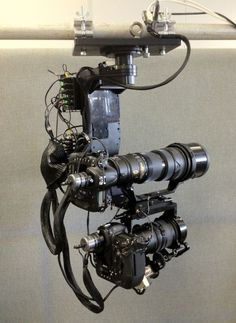 One of the robot cameras to be deployed during the London Games and used by AFP, supplied by Mark Roberts Motion Control