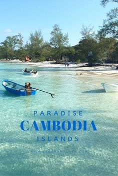 www.tastesomeculture.com Did you know the secret paradise islands of Cambodia?