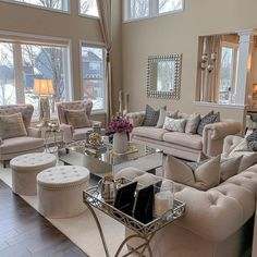 42 Luxury And Elegant Living Room Design - Luxurious living room spells different to everyone but each of us has a common notion of what is luxurious and not. Glam Living Room, Living Room Decor Cozy, Elegant Living Room, Formal Living Rooms, Living Room Sets, Living Room Designs, Elegant Home Decor, Dining Rooms, Living Area