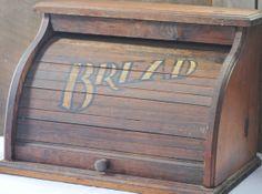 Vintage Bread Box / Kitchen Office Storage / by mothersmemories, $36.00