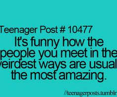 It's like you never thought how amazing they can be until you get to know them better :)