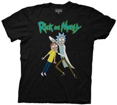 Commemorate your favorite cult classic with an awesome Rick and Morty Holding Morty's Eyes Adult Black T-Shirt . Free shipping on Rick and Morty orders over $50.