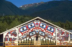 The Nass Valley is full of beautiful and unique #art #BC