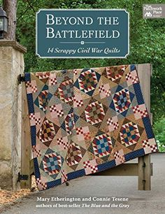 """Read """"Beyond the Battlefield 14 Scrappy Civil War Quilts"""" by Mary Etherington available from Rakuten Kobo. From beloved design team Country Threads comes this all-new collection of patterns inspired by quilts from the Civil War. Star Quilts, Easy Quilts, Amish Quilts, Scrappy Quilts, Quilt Blocks, Civil War Quilts, Antique Quilts, English Paper Piecing, Book Quilt"""