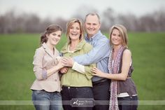by Simply Bloom Photography, another nice and natural pose for older families