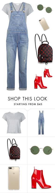 """Untitled #173"" by mclarasouza ❤ liked on Polyvore featuring RE/DONE, Current/Elliott, The Row, Speck and Laurence Dacade"