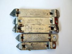 Lot of 5 Assorted Vintage Can or Beer Openers