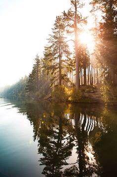 Amazing landscape in Canada