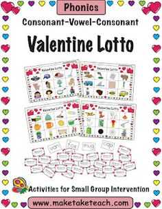 Valentine Lotto Freebie