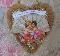 French Laundry: Happy Valentine's Day  Welcome to the Party...  via Pretty vintage Things