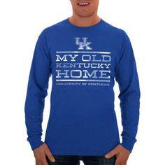 Russell Ncaa Kentucky Wildcats Men's Long T-Shirt, Size: Medium, Blue