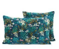 3 coloris disponibles - Harmony - Housse de coussin en velours Jungle - 40x60 cm - Home Beddings and Curtains