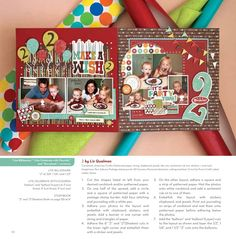 Cute layouts.  I have this paper!