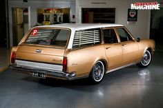 Young gun Dom Pancione loves the original look of his stunning 1970 Holden HG Premier wagon Australian Muscle Cars, Aussie Muscle Cars, Holden Wagon, Holden Kingswood, Holden Monaro, Holden Australia, Big Girl Toys, Custom Muscle Cars, Vintage Surf