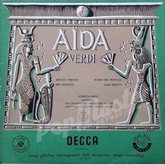 Verdi Aida Renata Tebaldi, Mario Del Monaco, Ebe Stignani Aldo Protti Alberto Erede 3 lp LXT 2735/6/7