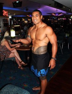 Polynesian... good looking  mostly good natured, most are religious- Catholic   Mormons