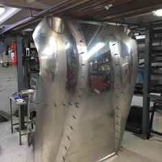 Bonnet being made in Aluminium ready for inner panels to be riveted together #classicautos_finburghs #aluminium #panelbeater #panelbeating #restoration #englishwheel #welding #riveting #handmade #sportscar #racecar