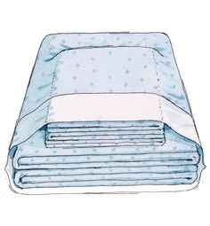 Never lose a pillowcase again! Here's how: If the clean set isn't going directly onto a bed, fold and stash it in one of the pillowcases to keep everything together. James Noel Smith  - Redbook.com