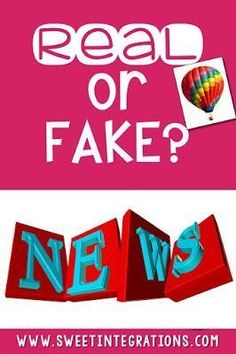 Help upper elementary, middle school, & high school students with media literacy by teaching them to distinguish between real and fake news. Learn why what students research and read needs to be up-to-date. Watch videos learning more about legitimate webs
