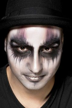 Halloween Makeup men ideas of original look