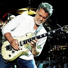 """""""EVH AT SAN BERNARDINO CALIFORNIA, WITH THE FIRST EVH WOLFGANG FROM THE…"""