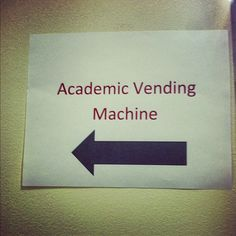 #Academic vending machines are the best! lol