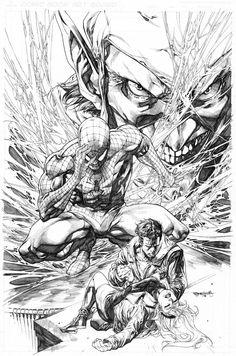 Capt Marvel sample cover by sjsegovia on DeviantArt Comic Book Artists, Comic Artist, Comic Books Art, Comics Spiderman, Marvel Comics Art, Comic Drawing, Design Graphique, Amazing Spiderman, Comic Character