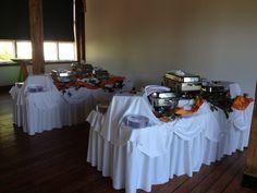 Double Buffet Set Up