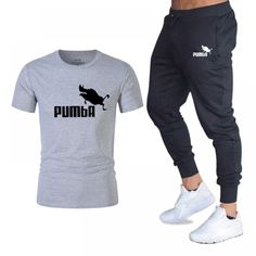 men's sportswear T Shirts+pants Two Pieces Sets Casual Tracksuit Men/Women New Fashion printing suits sportwear Gyms Fitness psg - Eagle Arrows Body Building Men, Gym Gear, Two Pieces, Gym Workouts, New Fashion, Casual Pants, Sportswear, Sweatpants, Suits