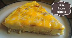 Easy Bacon Frittata Recipe