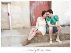 Denton Square Engagement Session - www.emilydavisphoto.com