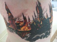 hogwarts tattoo | Hogwarts tattoo