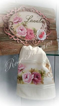 Fabric Painting, Bathroom Accessories, Table Runners, Decorative Boxes, Rose, Embroidery Hoop Crafts, Bath Towels & Washcloths, Hand Towels, Embroidered Towels