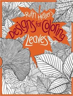 Leaves Designs For Coloring