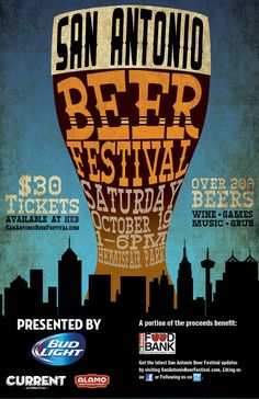 San Antonio Beer Festival on October 19 ~ Ticket Giveaway! - Saving U . San Antonio Beer Festival on October 19 ~ Ticket Giveaway! - Saving U Green Beer Festival, Food Festival, San Antonio Food, Beer Birthday Party, Wine Games, Beer Decorations, Brewery Design, British Beer, Champagne Taste