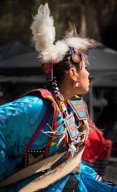 Dancer at Stanford Powwow