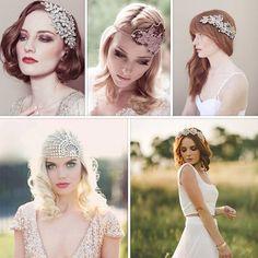 Nişan ya da nikah töreninizde zarafetinizi şık saç aksesuarlarıyla tamamlayın.