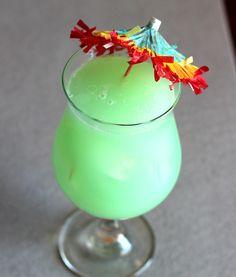 Hpnotiq Breeze drink recipe - Hpnotiq, Malibu Rum, Pineapple Juice