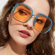 70s Glasses, Fashion Eye Glasses, 70s Aesthetic, Aesthetic Fashion, Big Sunglasses, Sunglasses Women, Sunnies, Aesthetic Clothing Stores, Clothing Company