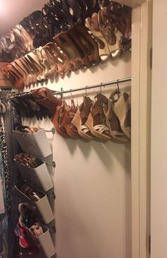 Organized shoe storage without using an inch of precious floor space - IKEA Hackers - IKEA Hackers