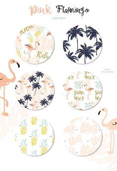Pink flamingo - Illustrations