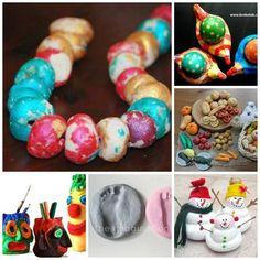 Over 30 Salt Dough Craft Ideas for Kids.