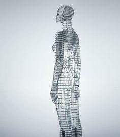 tokujin yoshioka transparent body installation 005