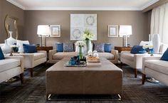 Blue Living Room Ideas | Doğal renklerin bir diğer avantajı ise canlı renklerin hemen ...